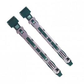 Lot 2x Réglettes Rails de Fixation Disque Dur Fujitsu Siemens K1008-K716-C310