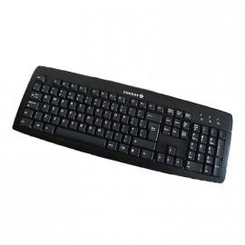 Clavier PC AZERTY Noir PS/2 Cherry KB-0556 J82-16000LPNFR-2V 104 Touches