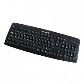 Clavier Azerty Noir PS/2 Cherry KB-0556 KU-0556 PC Keyboard 104 Touches