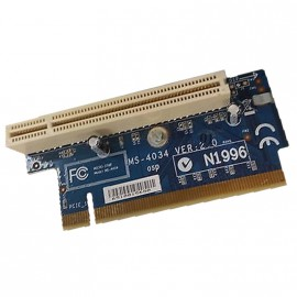 Carte PCI IBM Riser Card Micro Star MS-4034 VER:1.0 PCI IBM Lenovo ThinkCentre