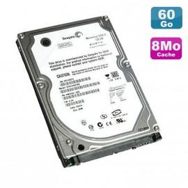 "Disque Dur PC Portable 60Go IDE 2.5"" Seagate Momentus ST96812A 5400RPM 8Mo"