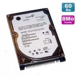 "Disque Dur PC Portable 60Go IDE 2.5"" Seagate Momentus ST960821A 4200RPM 8Mo"