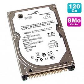 "Disque Dur PC Portable 120Go IDE 2.5"" Seagate Momentus ST9120822A 5400RPM 8Mo"