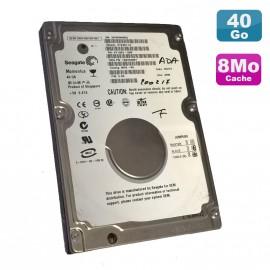 "Disque Dur PC Portable 40Go IDE 2.5"" Seagate Momentus ST94811A 5400RPM 8Mo"