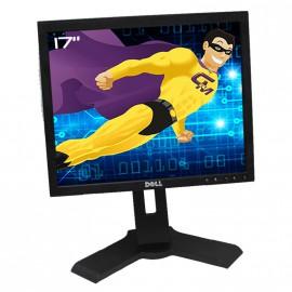 "Ecran Plat 17"" DELL 1708FPf 1708FPt VGA DVI Hub USB Rotation 90° Pivotant Noir"