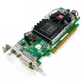 Carte Graphique ATI Radeon HD2400XT 256Mo DDR2 PCI-E DMS-59 S-Video Low Profile