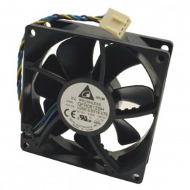 Ventilateur PC Delta QFR0812SH Fujitsu V26815-B116-V78 4-Pin 80x80x25mm