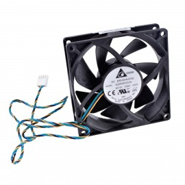 Ventilateur PC Delta QUR0912VH Lenovo 03T9902 4-Pin 92x92x25mm
