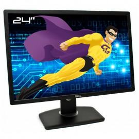 """Ecran PC 24"""" Dell UltraSharp U2412Mc 0YPPY0 IPS LCD VGA DVI Display 4xUSB 16:10"""