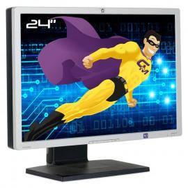 """Ecran PC 24"""" HP LP2465 EF224A HSTND-2111-B TFT LCD 2x DVI-I 4x USB 16:10 Wide"""
