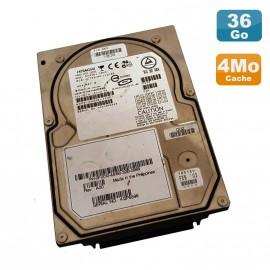 "Disque Dur 36Go Ultra SCSI 320 3.5"" Hitachi Ultrastar DK32EJ-36NC 80Pin 10K 4Mo"