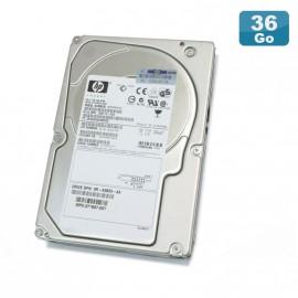 "Disque Dur 36.4Go USCSI Ultra320 SCSI 3.5"" HP BD03685A24 10000RPM"