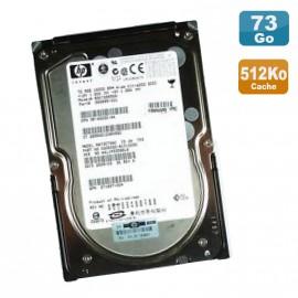 "Disque Dur 72.8Go USCSI Ultra320 SCSI 3.5"" HP BD0728856A 10000RPM 512K"