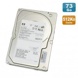 "Disque Dur 72.8Go USCSI Ultra320 SCSI 3.5"" HP BD07285A25 10000RPM 512K"