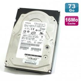 """Disque Dur 73Go SAS 3.5"""" HITACHI Ultrastar HUS151473VL3800 15000 RPM 16Mo"""