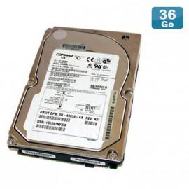 "Disque Dur 36.4Go USCSI Ultra320 SCSI 3.5"" COMPAQ BD0366349C 80-Pin 10000RPM"