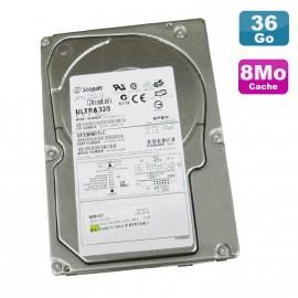 Disque Dur 36.7Go SCSI SEAGATE Cheetah ST336607LC Ultra 320 10K RPM 8Mo
