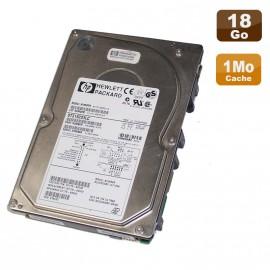 """Disque Dur 18Go SCSI LVD U160 3.5"""" Hewlett Packard ST318203LC 80Pin 10000RPM 1Mo"""