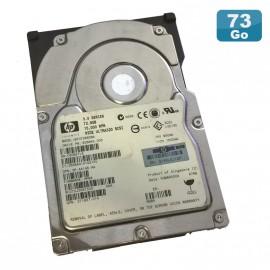 "Disque Dur 72.8Go Ultra320 SCSI 3.5"" HP BF072863BA 15000 RPM"