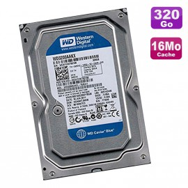 "Disque Dur 320Go SATA 3.5"" Western Digital WD3200AAKX-753CA1 7200RPM 16Mo"
