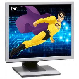 """Ecran PC 19"""" Fujitsu B19-3 ScenicView S26361-K1143-V150 LCD TFT TN VGA DVI-D 5:4"""