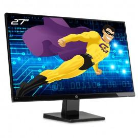 "Ecran PC 27"" HP 27w 1JJ98AA HSTND-8711-A 1588-3003 IPS HDMI VGA Wide 16:9 NEUF"