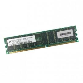 512Mo Ram Serveur MICRON MT18VDDT6472G-265C3 184-PIN DDR PC-2100R 266Mhz CL2.5