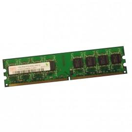 1Go Ram PC Bureau Hynix HYMP512U64BP8-Y5 AB-A 240Pin DIMM PC2-5300U DDR2-667 CL5