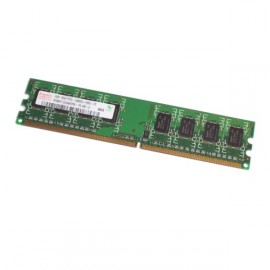 1Go Ram PC Bureau Hynix HYMP112U64CP8-Y5 AB DIMM DDR2 667Mhz PC2-5300U 1Rx8 CL5