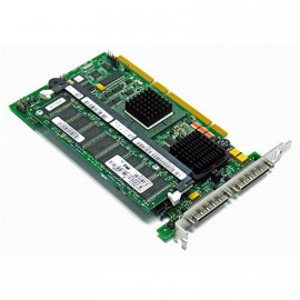 Carte PCI-X SCSI Ultra-320 LSI Logic Dell PERC4/DC 128Mb Raid Controller 0KJ926