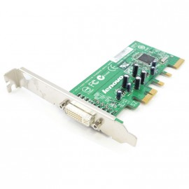 Carte Adaptateur Lenovo IBM FRU 39J9334 PCI-Express x16 DDR SDRAM DVI ADD2-R