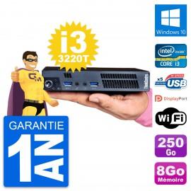 Ultra Mini PC Lenovo M92p Tiny i3-3220T RAM 8Go Disque 250Go Windows 10 Wifi