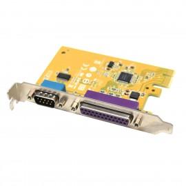 Carte Parallèle Série IEEE1284 LPT DB-25 RS-232 PCI-e SUNIX MI06469A 05R3FC