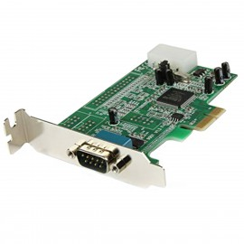 Carte Série StarTech PEX1S553LP 9901 PCI-e Port RS-232 DB-9M Molex Low Profile