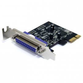 Carte StarTech PEX1PLP Port Parallele DB-25 PCI-e Low Profile IE-X06-6110