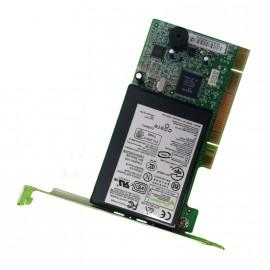 Carte Modem 56K COMPAQ AGERE 1456VQH55E V.92 239411-001 1648C-TV5 PCI FAX 2xRJ11