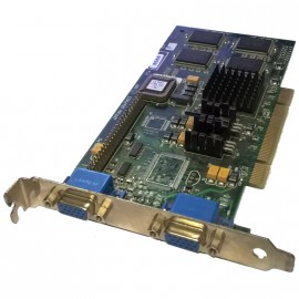 Carte Graphique Appian Graphics Gemini PCI PCA-8566 2xVGA Passif 566G10910255