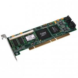Carte contrôleur Raid SATA II 3Ware 9500S-4LP 700-0159-00 PCI-X Low Profile