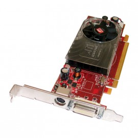 Carte ATI Radeon HD 2400 XT 256MB PCI-E DMS-59 S-VIDEO TV ATI-102-B27602 0FM351