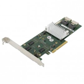 Carte SATA II Controller RAID Fujitsu D2616-A12 PCIe x8 2xSAS 6GB 512MB DDR2 800