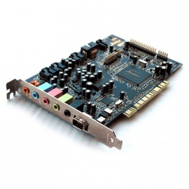 Carte Son Creative Labs Sound Blaster Audigy SB0090 PCI FireWire Speaker Audio