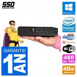 Ultra Mini PC Dell 3020 Micro USFF G3250T RAM 4Go SSD 480Go Windows 10 Wifi