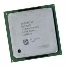 Processeur CPU Intel Celeron 2.4Ghz 128Ko FSB 400MHz MPGA478B Mono Core SL6W4 PC