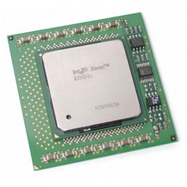 Processeur CPU Intel Xeon 2000DP 2Ghz 512Ko FSB 400Mhz Socket 603 604 SL6EM PC