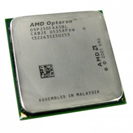 Processeur CPU AMD Opteron 250 2.4Ghz 1Mo Socket 940 Mono Core OSP250FAA5BL PC