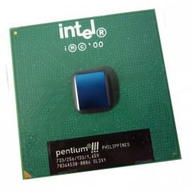 Processeur CPU Intel Pentium 3 733Mhz FSB 133Mhz 256Ko Socket 370 MonoCore SL3XY