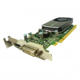 Carte NVIDIA Quadro 400 642229-001 645557-001 P1052 PCIe DVI Display Low Profile