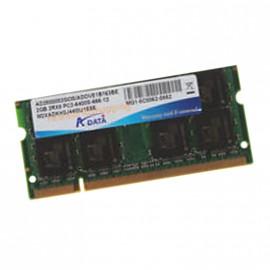 2Go RAM PC Portable SODIMM ADATA ADOVF1B163G2G DDR2 PC2-6400 800MHz 2Rx8 CL5