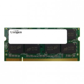 2Go RAM PC Portable SODIMM UNIGEN UG25T640GM8SU-8CI0-MIC DDR2 PC2-6400S 800 CL6