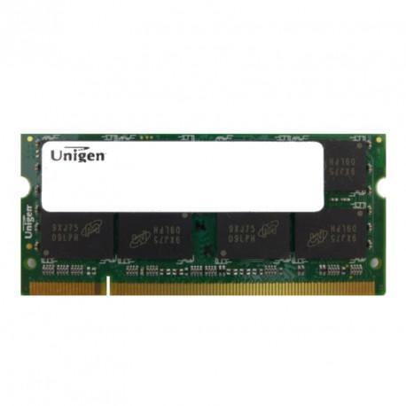 2Go RAM PC Portable SODIMM UNIGEN UG25T640GM8SU-8CI0-MIC DDR2 PC2-6400S 800 CL6